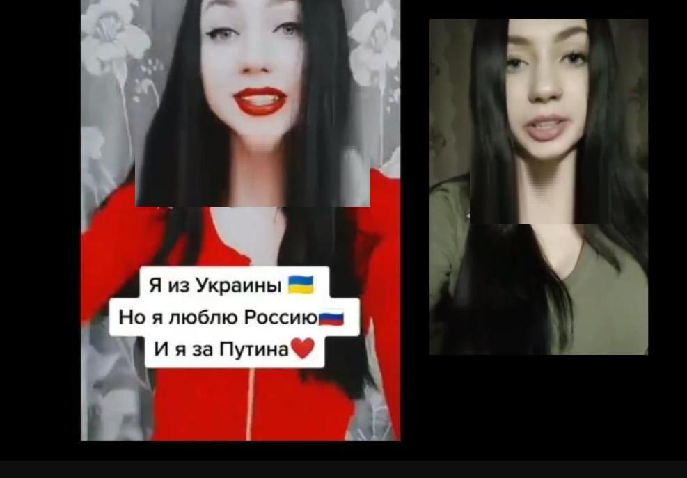"""Украинка после скандала и слов о любви к России записала новое видео: """"Я гражданка Украины, я люблю Украину!"""""""