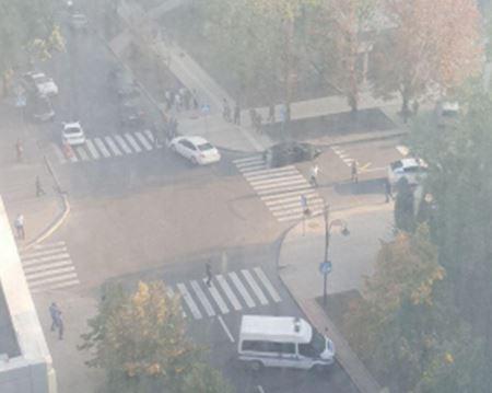 Новые детали ликвидации Захарченко: у террориста не было шансов выжить -  кадры с места убийства главаря в Донецке