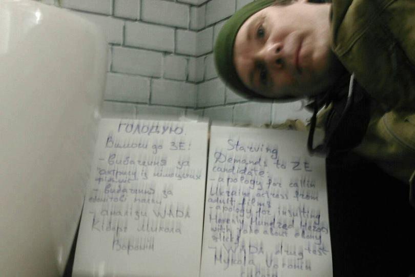 Киборг ДАП Николай Воронин объявил голодовку из-за Зеленского, жизнь героя под угрозой - громкие подробности