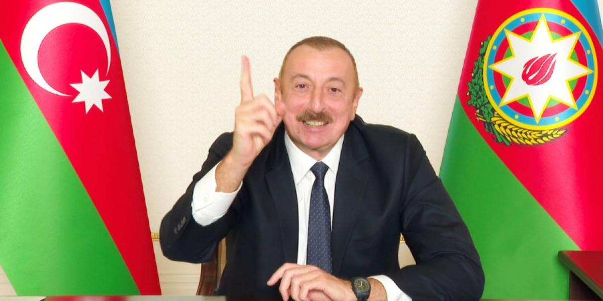 Алиев в прямом эфире посмеялся над Пашиняном после капитуляции Армении: появилось видео