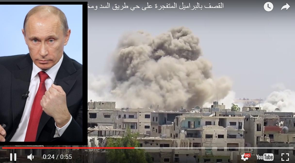 Российские военные устроили кровавый ответ за ракетный удар США по силам Асада в Сирии: западные журналисты ужаснулись, опубликовав видео (кадры)