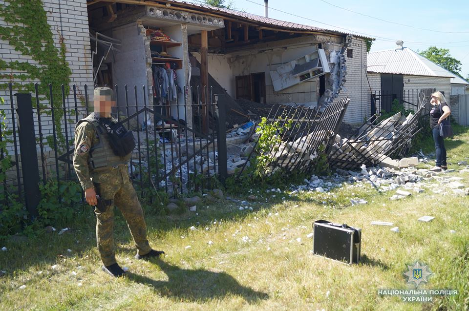 Лисичанск, Луганская область, полиция, взрыв, новости, Украина, семья, пострадавшие