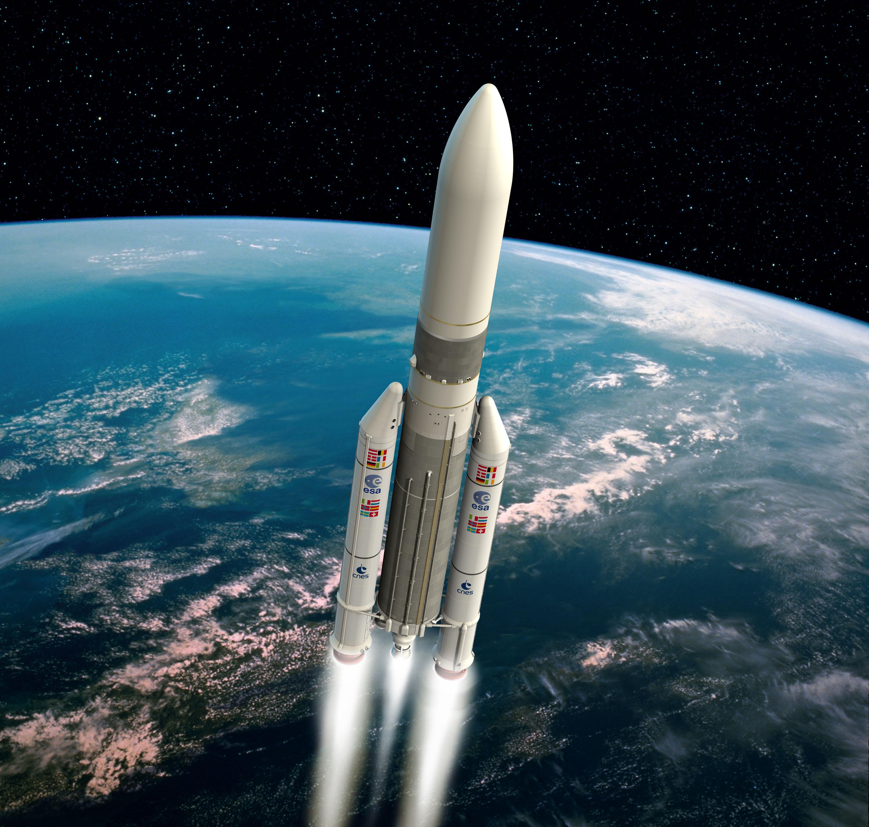 Картинка настоящей ракеты