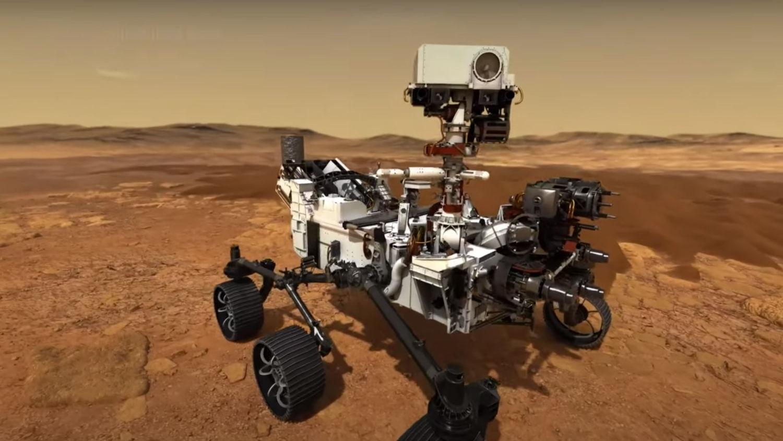 Невероятные кадры: китайский марсоход прислал первые фото Красной планеты