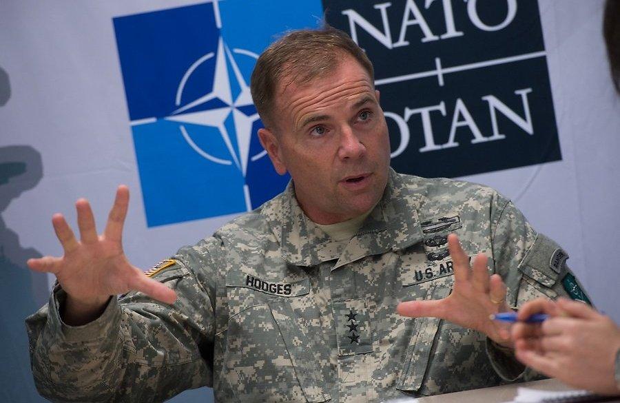 Генерал США Ходжес: Армия РФ принимала прямое участие в боях около Дебальцево