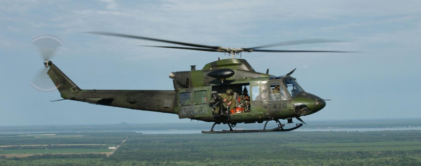 В Индонезии разбился военный вертолет с офицерами на борту
