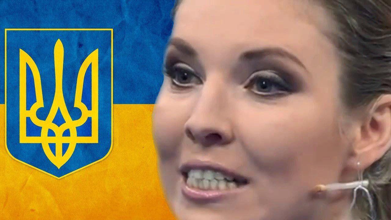 Скабеева радовалась размытой дамбе в Украине - после ее эфира размыло Крым