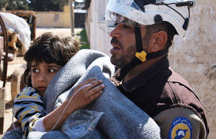 Многострадальных жителей Сирии снова травили запрещенным ядовитым газом: Восточная Гута подверглась химатаке