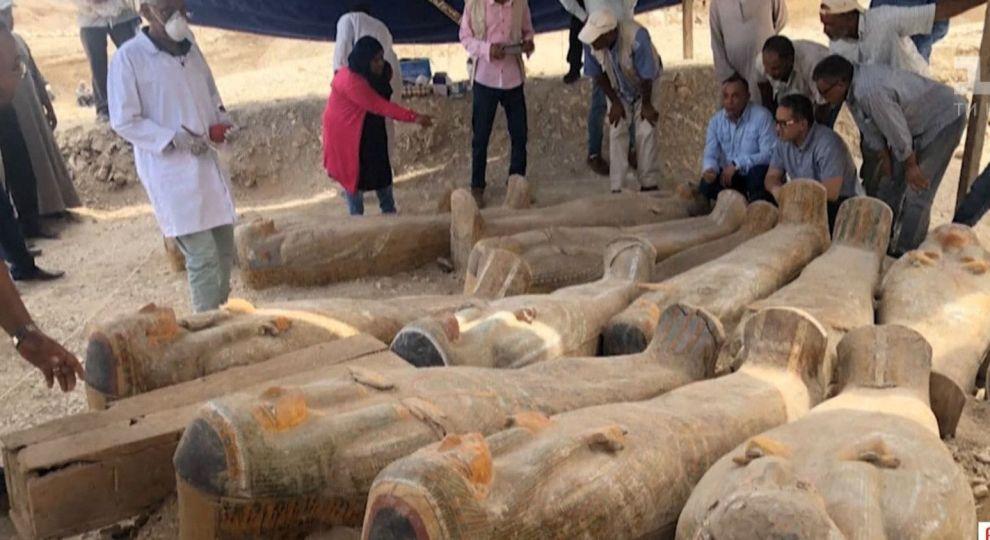 Египет, саркофаг, гробница, фараон, Эль-Ассасиф, Долина Царей