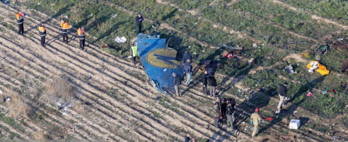 """Катастрофа """"Боинга"""" компании МАУ в Иране: Тегеран заявил об окончании расследования"""