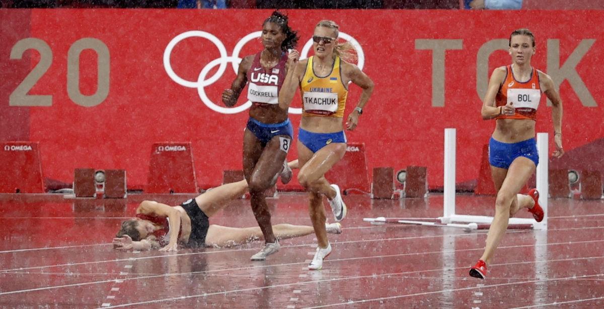 Украинские легкоатлетки под ливнем добежали до финала Олимпиады – 2020