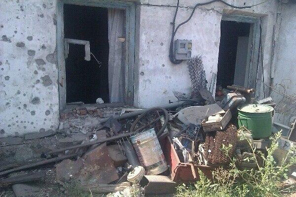 Как выглядит микрорайон Лидиевка в Донецке после обстрела 09.08