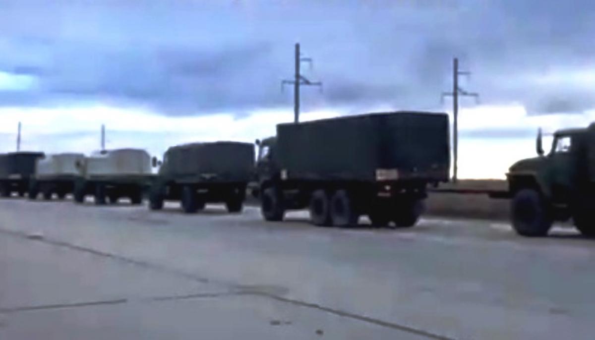 Кремль отправляет в Карабах военных РФ: российский политик показал видео с отправкой 31-й бригады