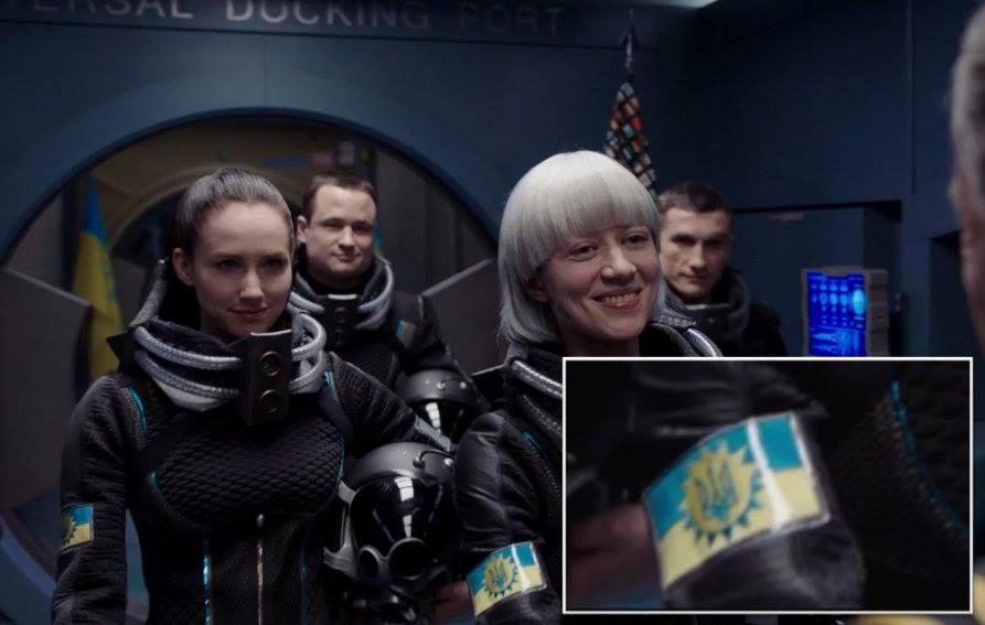 """В киноленте именитого Люка Бессона нашли украинских астронавтов: """"Не показывайте Рогозину!!! Он еще батут не достроил"""", - кадры"""