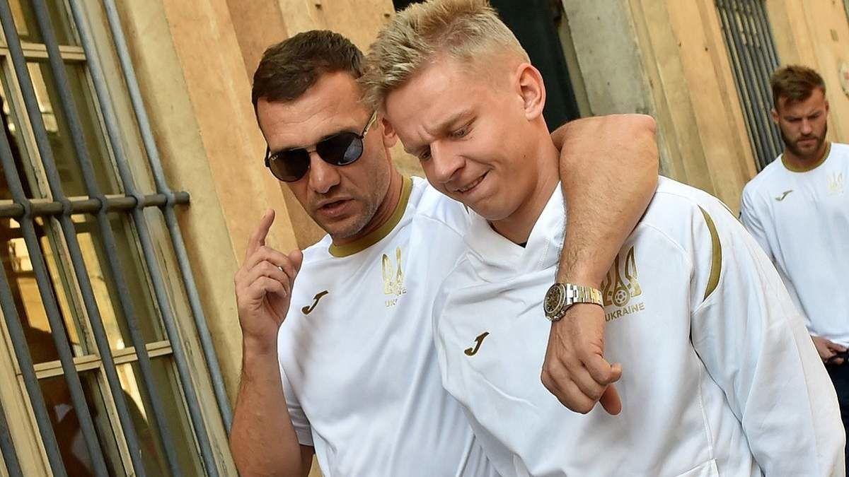 Шевченко и Зинченко рассказали, как Украина будет бороться против Англии в 1/4 Евро 2020