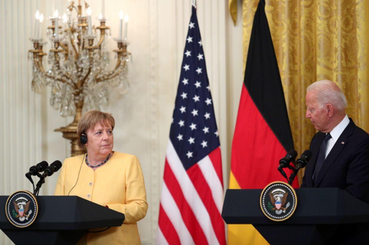 """""""Это прямая угроза"""", – в Германии раскритиковали сделку Меркель с Байденом по """"Северному потоку 2"""""""