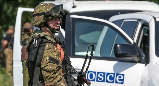 "Наблюдателей миссии ОБСЕ не пустили в поселок Седово  на территории ""ДНР"""