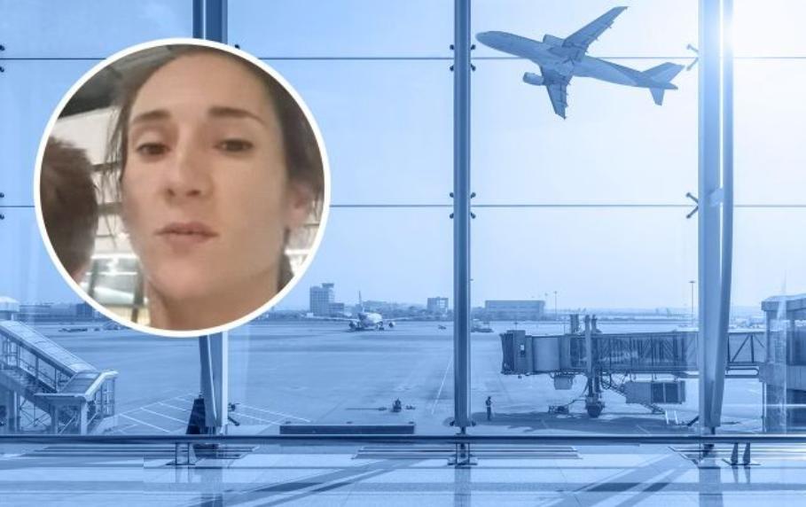 МАУ угодила в скандал: из-за опоздания рейса спортсменка Ольга Ширяева двое суток ночует с детьми в аэропорту Лондона