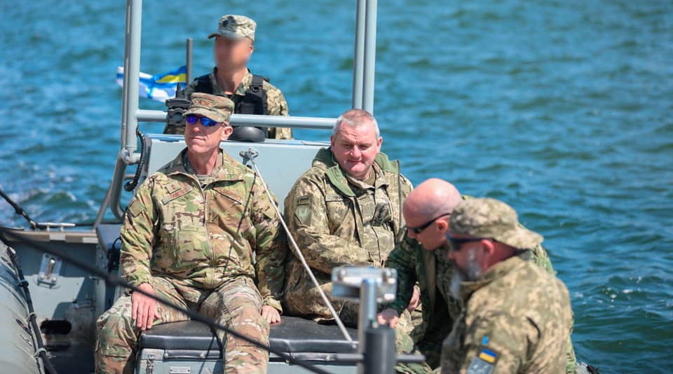 Командующий ССО США в Европе Дэвид Табор посетил с официальным визитом Украину
