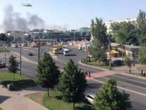 СМИ: Авиаудар по железнодорожному вокзалу Донецка нанесла украинская армия