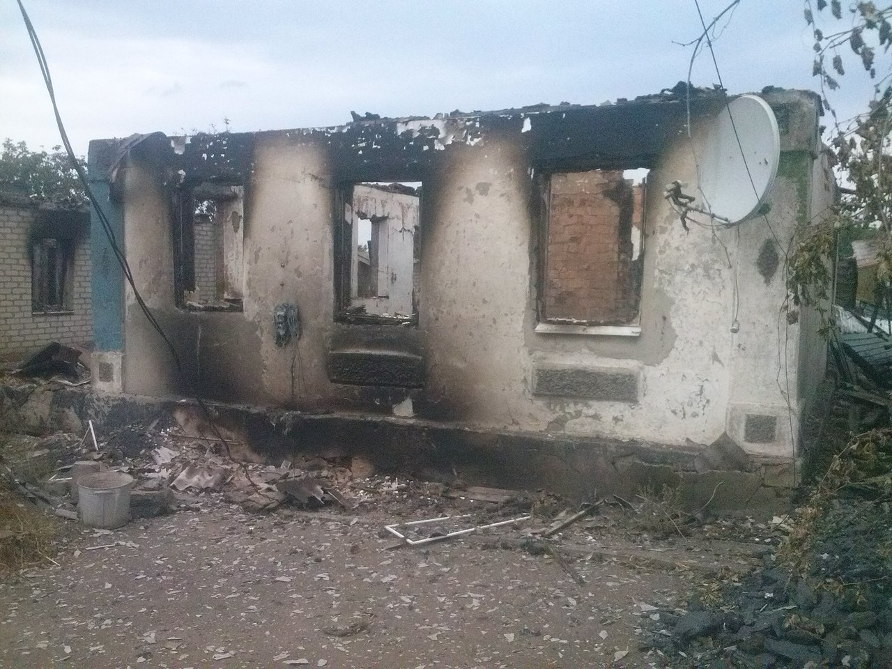 Как выглядит Макеевка после обстрела 18 сентября