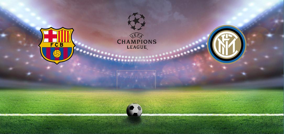 """Барселона"" - ""Интер"": онлайн-видеотрансляция матча Лиги чемпионов"