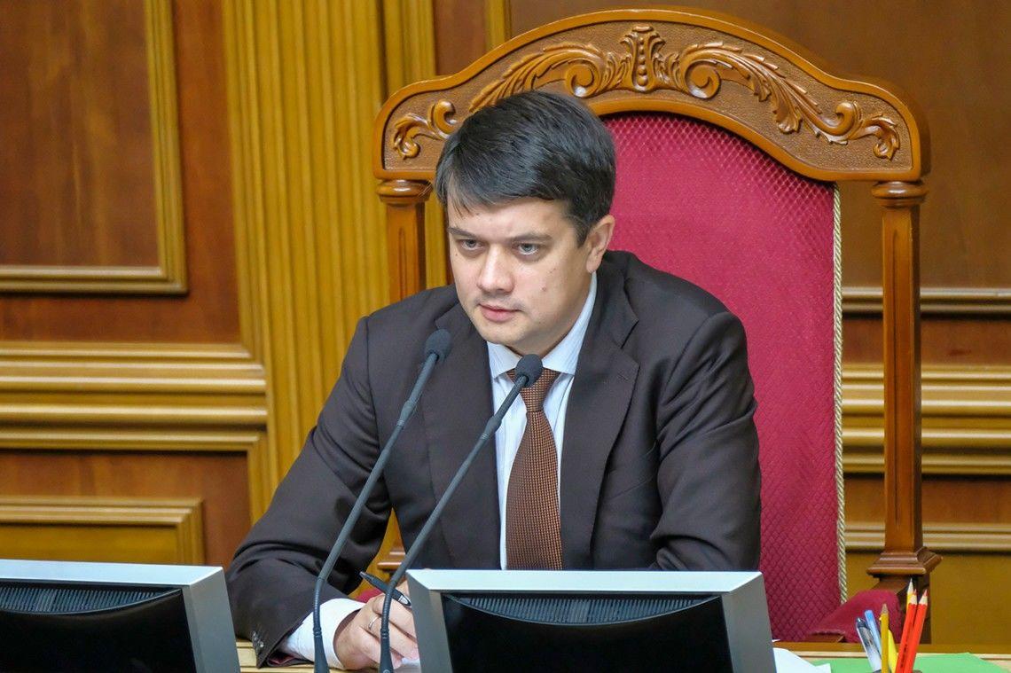 Ответственность за Харьковские соглашения: Разумков пошел против мнения СНБО