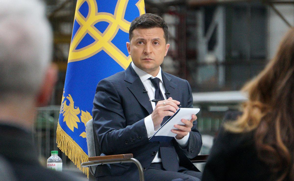 """""""Мне нужна будет поддержка"""", – Зеленский назвал условия для вынесения на референдум закона об олигархах"""