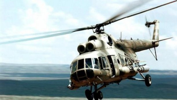 Россия готовит новое вторжение : российский вертолет Ми-8 нарушил воздушное пространство Украины в районе Херсонской области