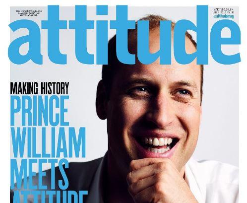Лицо британского принца Уильяма поместили на обложку гей-журнала Attitude: член королевской семьи рассказал об отношении к ЛГБТ
