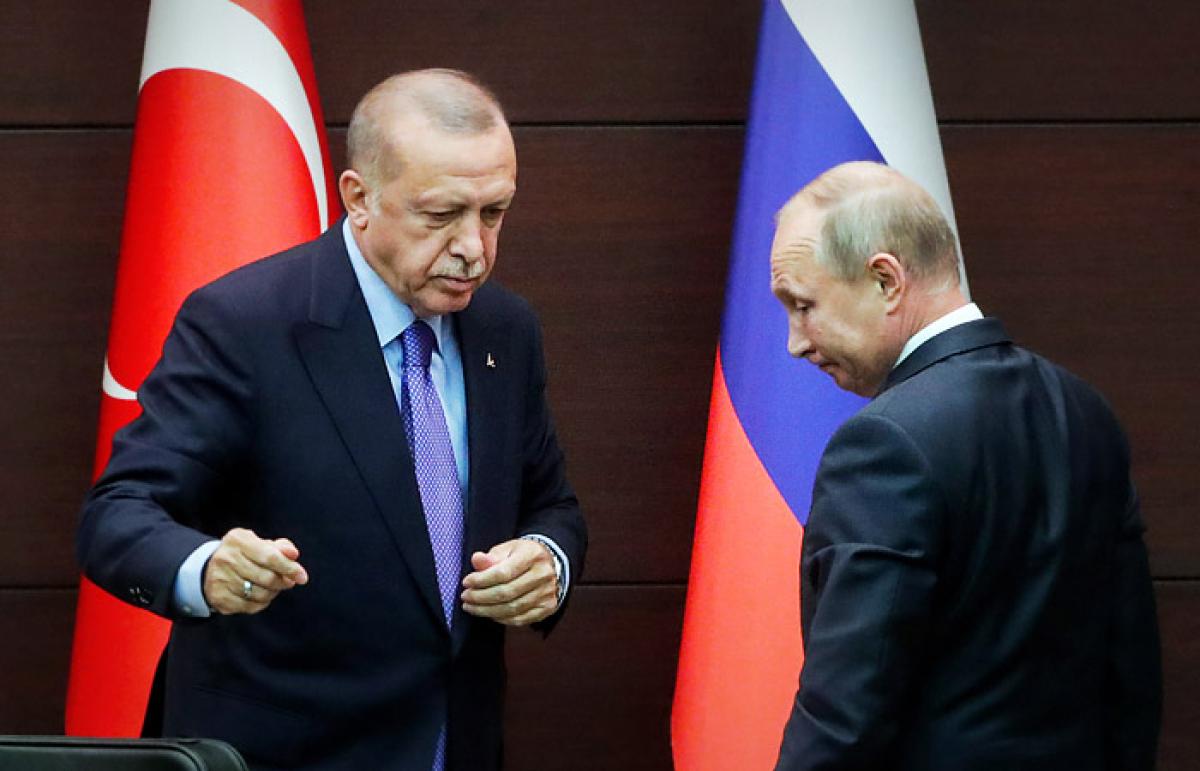 """Эрдоган использует проблему Путина: """"Ситуация развивается крайне плохо для России"""", - СМИ"""