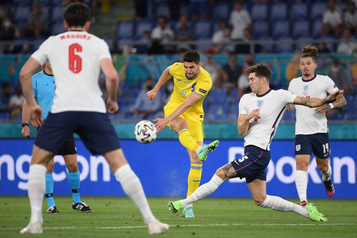 Украина выбывает из Евро - 2020, проиграв Англии с разгромным счетом 4:0
