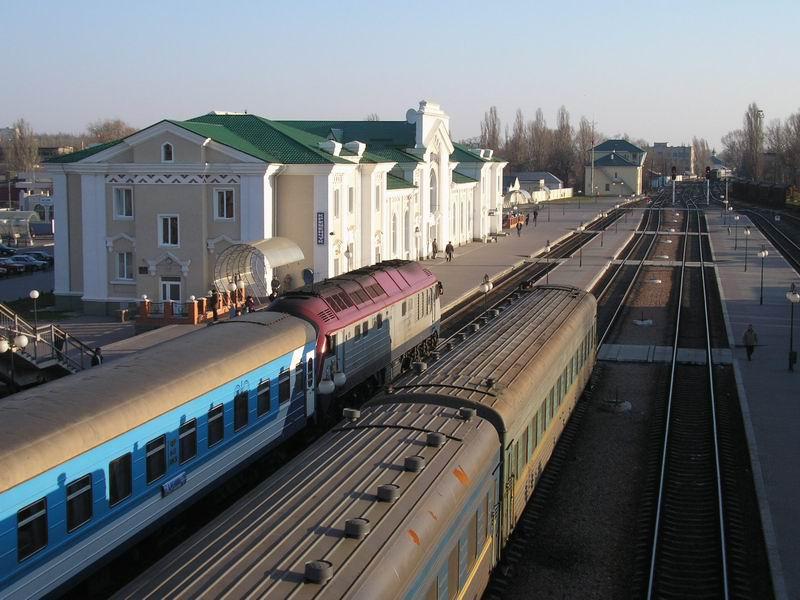 Информация о работе поездов Донецкой железной дороги