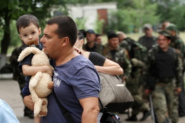 юго-восток украины, ато, переселение, новости донецка, новости луганска
