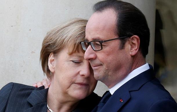ИноСМИ: Меркель и Олланд не согласились с мирным планом Путина