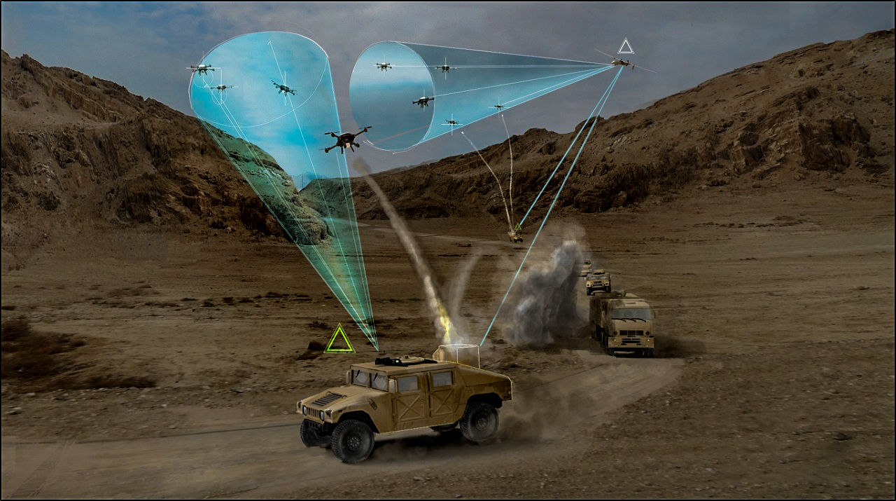 США представили компактный и недорогой радар для ударных беспилотников-камикадзе