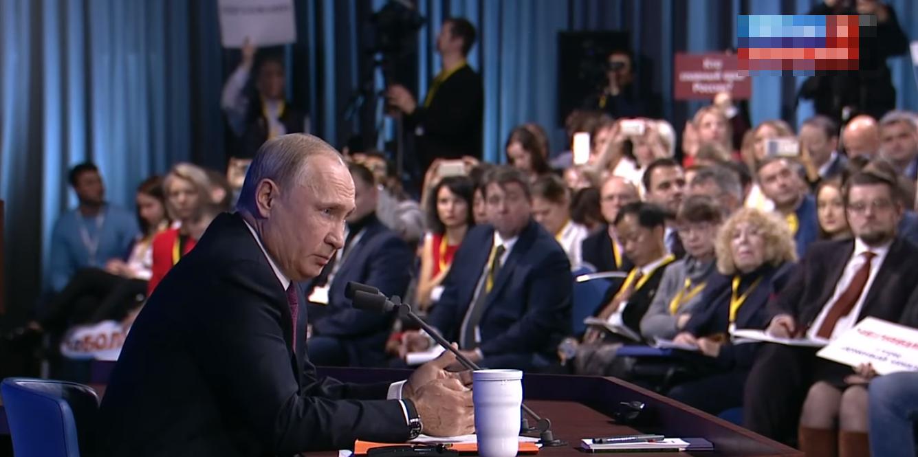 Путин устроил перепалку с украинским журналистом в прямом эфире – видео