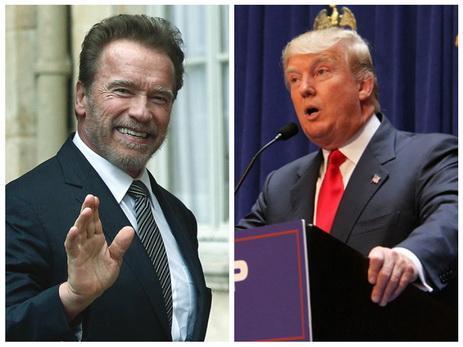 Трамп, Дональд Трамп, Арни, Арнольд Шварценеггер, губернатор Калифорнии, президент америки, телеведущий, скандал, соцсети, микроблог, худший, Тегеран, Иран, игра с огнем