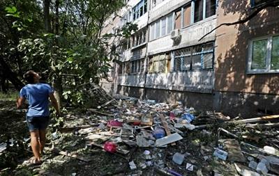 Горсовет Донецка: Звуки залпов и взрывов раздаются во всех районах города