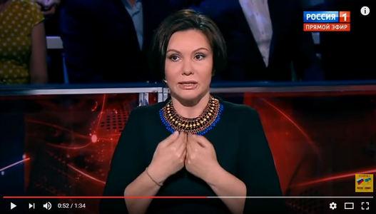 """Цинизм высшей пробы: """"регионалка"""" Бондаренко на потеху кремлевским пропагандистам полила грязью Украину - кадры"""
