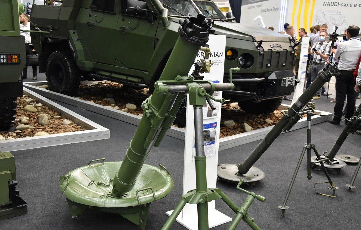 ВСУ завершили испытания новейшего армейского миномета МП-120
