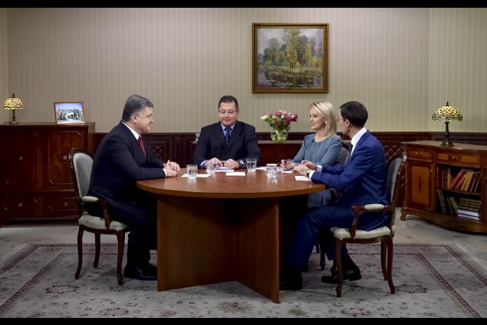 Порошенко: мы не боимся российского шантажа и введем зону свободной торговли с ЕС