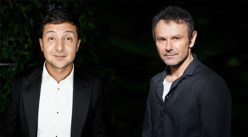 """""""Слава, а ты шо?"""" - Зеленский предложил Вакарчуку объединиться перед выборами и пойти в политику"""