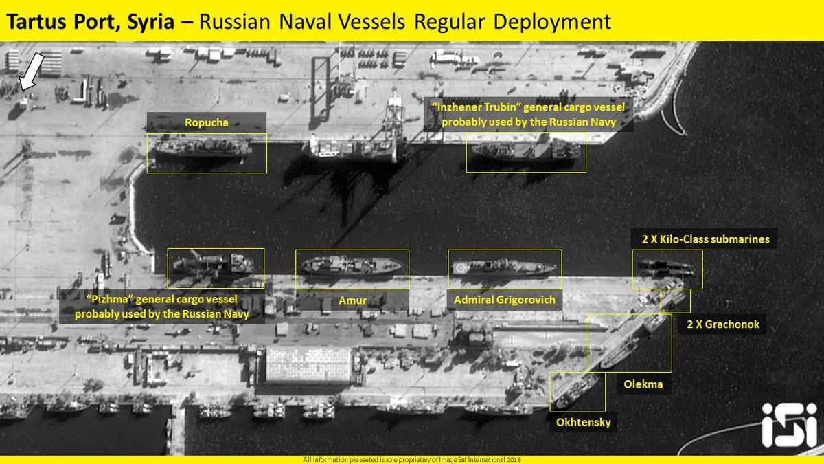 """Война в Сирии: """"бесстрашный"""" российский флот срочно бежал из сирийской базы Тартус в ожидании возмездия за Думу"""