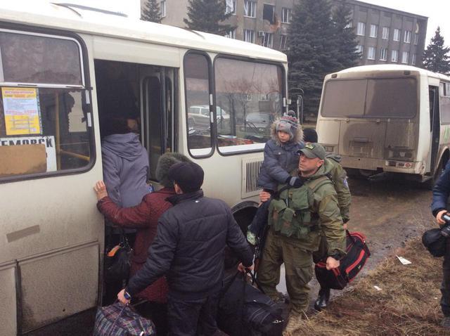 МВД: В Дебальцево началась эвакуация