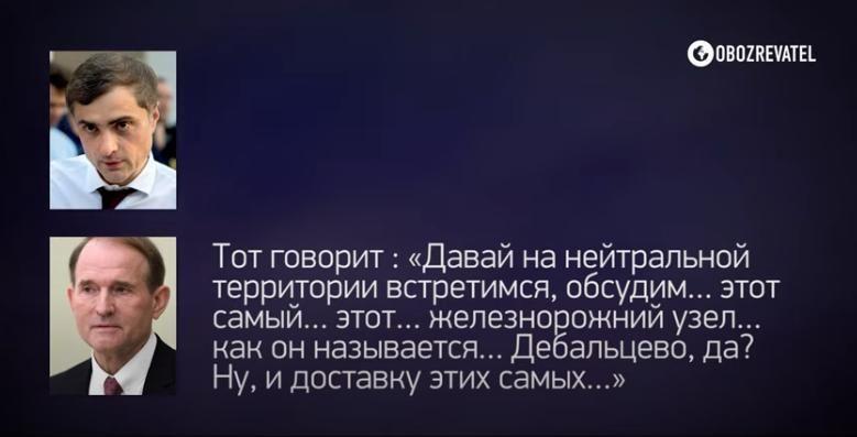 """В Сеть """"слили"""" новый разговор Медведчука и Суркова про Донбасс: """"Ты знаешь, с кем ты разговариваешь?"""""""