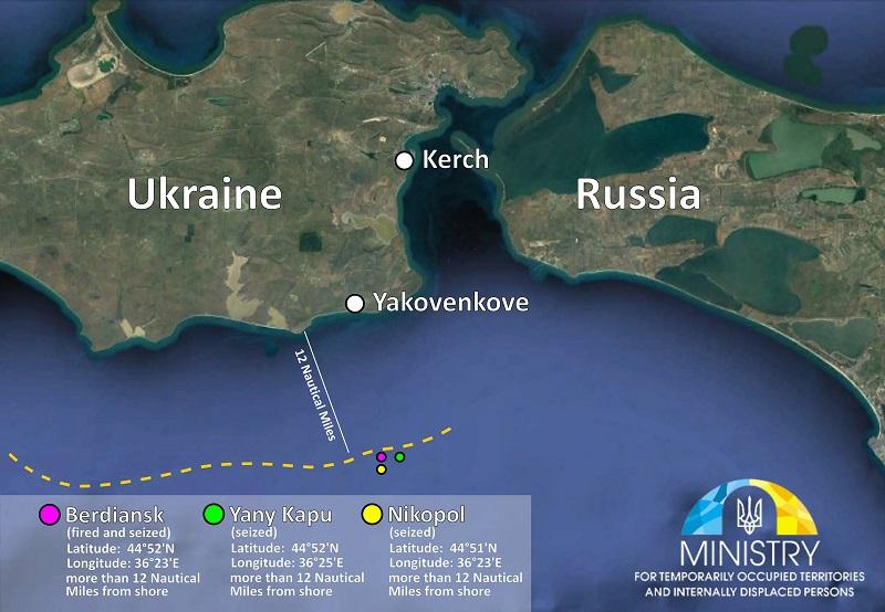 Россия напала на корабли Украины в нейтральных водах: данные карты с координатами загнали Москву в тупик