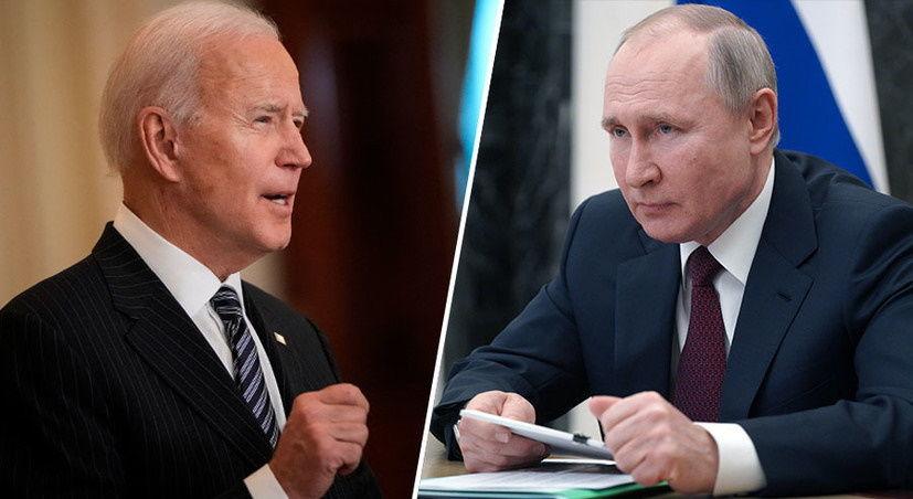 """Путин высказался относительно приглашения Байдена в РФ: """"Он меня в США не приглашал"""""""