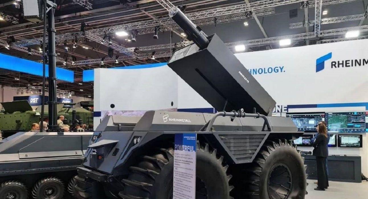 """""""Найти и обезвредить"""": роботизированный вездеход-ракетоносец Rheinmetall готов к защите человечества"""