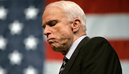 У непримиримого критика Путина и большого друга Украины сенатора Маккейна диагностировали тяжелую болезнь - глиобластому